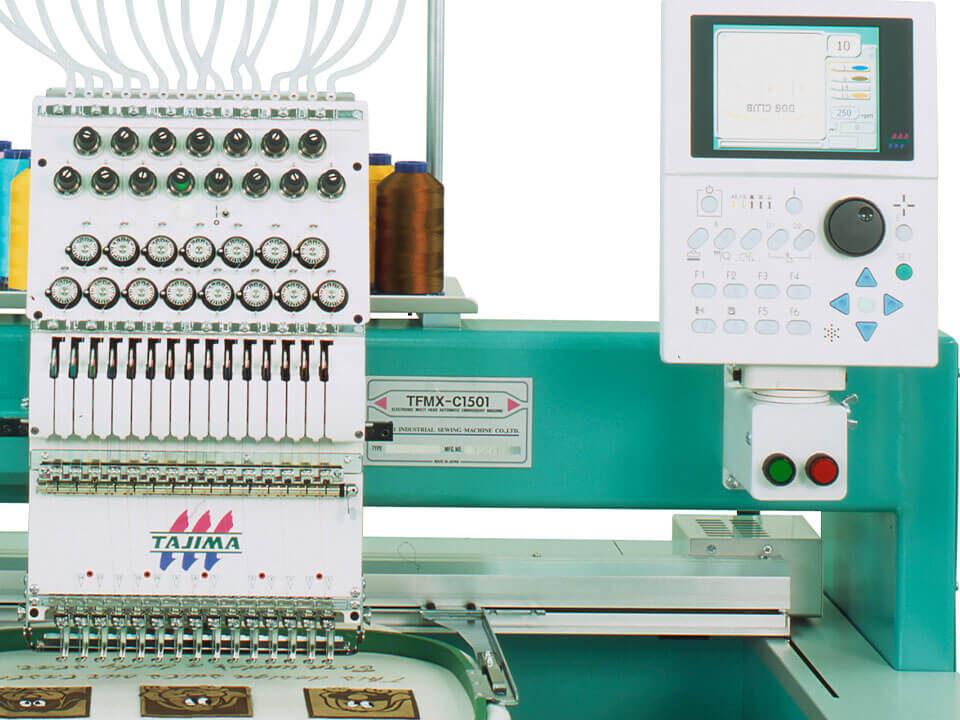 maszyna jednogłowicowa Tajima TFMX-C1501
