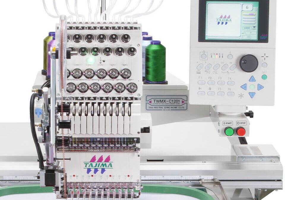 maszyna jednogłowicowa Tajima TWMX-C1501