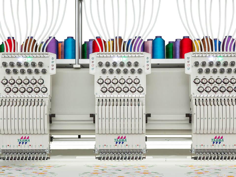 hafciarka tajima tmcr z cyfrowo sterowaną stopką i automatycznym naciągiem nici